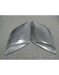 ChargeSpeed Universal Air Duct Side Carbon
