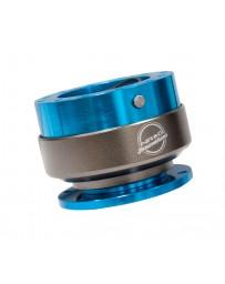 NRG Quick Release Gen 2.0 - New Blue Body / Titanium Chrome Ring