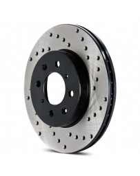 Focus ST 2013+ StopTech Drilled Sport Rear Driver Side Brake Rotor