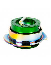 NRG Quick Release Gen 2.5 - Green Body / Neochrome Ring