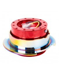 NRG Quick Release Gen 2.5 - Red Body / Neochrome Ring