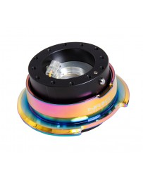 NRG Quick Release Gen 2.8 - Black Body / Neochrome Ring