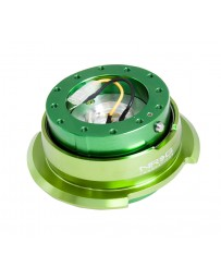 NRG Quick Release Kit Gen 2.8 - Green Body / Titanium Chrome Ring