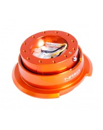 NRG Quick Release Kit Gen 2.8 - Orange Body / Titanium Chrome Ring
