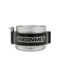 "Vibrant Performance HD Clamp Assembly for 2.5"" OD Tubing - Anodized Black Clamp"