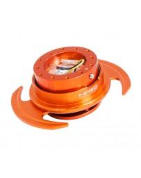 NRG Quick Release Kit Gen 3.0 - Orange Body / Orange Ring with Handles