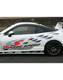 ChargeSpeed CS Vinyl Graphics Left/ Driver Side Decal Stickers