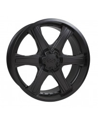 Enkei BHAWK 22x9.5 6x139.7 15mm Offset 108mm Bore Black Wheel