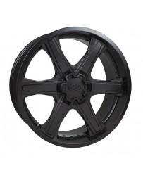 Enkei BHAWK 22x9.5 6x135 30mm Offset 87mm Bore Black Wheel