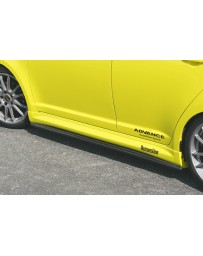 ChargeSpeed 04-09 Swift Sport Bottom Lines Carbon Side Skirts