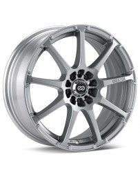 Enkei EDR9 18x7.5 5x105/110 38mm Offset 72.6 Bore Dia Silver Wheel