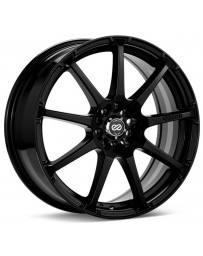 Enkei EDR9 17x8 5x105/110 38mm Offset 72.6 Bore Diameter Black Paint Wheel