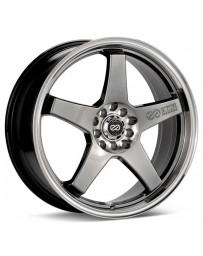 Enkei EV5 18x7.5 5x100/114.3 45mm Offset Hyper Black Wheel