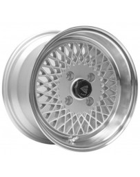 Enkei92 Classic Line 15x7 38mm Offset 4x114.3 Bolt Pattern Silver Wheel