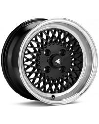 Enkei92 Classic Line 15x7 38mm Offset 4x100 Bolt Pattern Black Wheel
