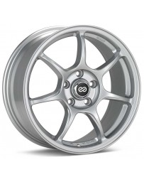 Enkei Fujin 17 x 7.5 40mm Offset 5x100 Bolt Pattern 72.6 Bore Silver Wheel