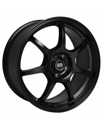 Enkei GT7 17x7.5 42mm Offset 4x100 Bolt Pattern 72.6 Bore Dia Matte Black Wheel