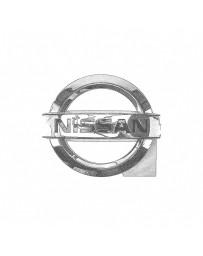 Nissan OEM Trunk Emblem - Nissan Skyline R34 GT-R, Late