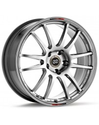 Enkei GTC01 17x7 4x100 38mm Offset 75mm Bore Hyper Black Wheel 02-06 Mini