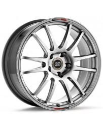Enkei GTC01 18x7.5 5x114.3 48mm Offset 75mm Bore Hyper Black Wheel 06+ Civic Si