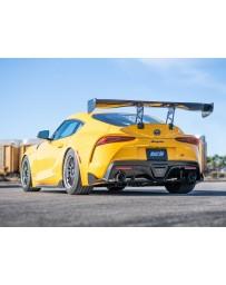 Toyota Supra GR A90 MK5 Borla 3in ATAK Catback Exhaust - Carbon Fiber Tips