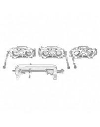 Nissan OEM Throttle Body Chamber Assembly (ITB) - Nissan Skyline R32 R33 R34 GT-R