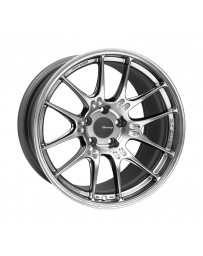 Enkei GTC02 18x10.5 5x114.3 15mm Offset 75mm Bore Hyper Silver Wheel