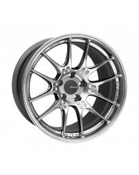 Enkei GTC02 18x9 5x112 25mm Offset 66.5mm Bore Hyper Silver Wheel