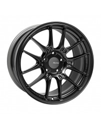 Enkei GTC02 18x9.5 5x120 45mm Offset 72.5mm Bore Matte Black Wheel