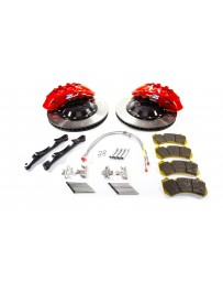 R35 GT-R Alcon 412x36mm Rotor Red 6 Piston Caliper RC6 Front Axle Kit