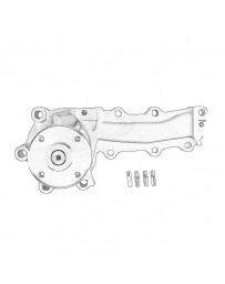 Nissan OEM NEO RE25DET Water Pump - Nissan Skyline R34 25GTT