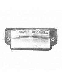 Nissan OEM license Plate Lamp Assembly - Nissan Skyline R32