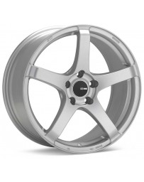 Enkei Kojin 17x8 35mm Offset 5x120 Bolt Pattern 72.6mm Bore Dia Matte Silver Wheel