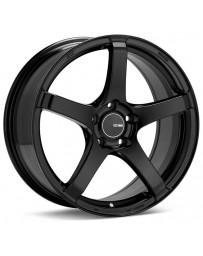 Enkei Kojin 18x8.5 42mm Offset 5x112 Bolt Pattern 72.6mm Bore Dia Matte Black Wheel