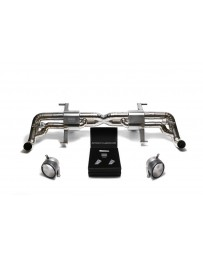 ARMYTRIX Titanium Valvetronic Catback Exhaust System Dual Carbon Tips Audi R8 V8 MKI Facelift 2013-2015