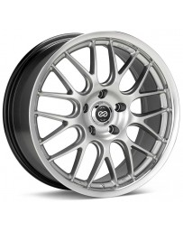 Enkei Lusso 18x7.5 42mm Offset 5x1114.3 Bolt Pattern 72.6 Bore Hyper Silver Wheel