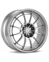 Enkei NT03+M 18x9.5 5x114.3 27mm Offset 72.6mm Bore F1 Silver Wheel