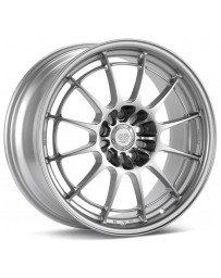 Enkei NT03+M 18x8.5 5x120 38mm Offset 72.6mm Bore Silver Wheel *Special Order*