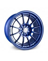 Enkei NT03+M 18x9.5 5x114.3 40mm Offset 72.6mm Bore Victory Blue Wheel G35/350z
