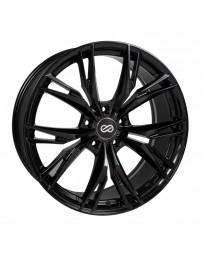 Enkei ONX 17x7.5 5x114.3 45mm Offset 72.6mm Bore Black Wheel