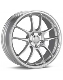 Enkei PF01 18x7.5 5x100 45mm Offset Silver Wheel 02-10 WRX & 04 STI/05-09 LGT