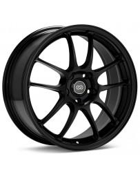 Enkei PF01 18x9.5 5x114.3 15mm Offset 75 Bore Dia Black Wheel