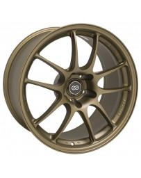 Enkei PF01 18x10.5 5x114.3 15mm Offset 75mm Bore Titanium Gold Wheel