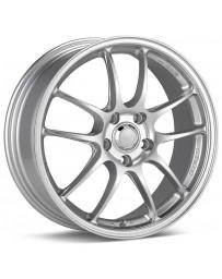 Enkei PF01 18x8 5x114.3 50mm Offset 75mm Hub Bore Silver Paint Wheel