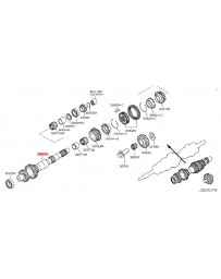 370z Z34 Nissan OEM Gear Counter