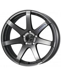 Enkei PF07 18x8 5x100 45mm Offset 75mm Bore Dark Silver Wheel