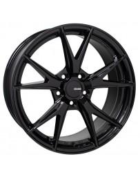Enkei Phoenix 18x8 35mm Offset 5x114.3 72.6mm Bore Gloss Black Wheel