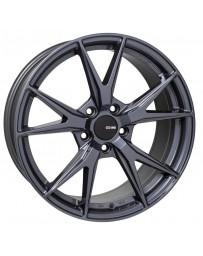 Enkei Phoenix 18x8 45mm Offset 5x100 72.6mm Bore Blue Gunmetal Wheel