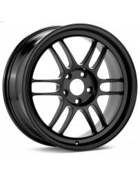 Enkei RPF1 16x7 4x100 43mm Offset 73mm Bore Black Wheel Miata 4-Lug / 02-06 Mini / Honda & Acura 4