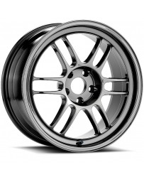 Enkei RPF1 18x7.5 5x114.3 48mm Offset 73mm Bore Matte Black Wheel 07-11 Mazdaspeed 3 *Min Qty 48*